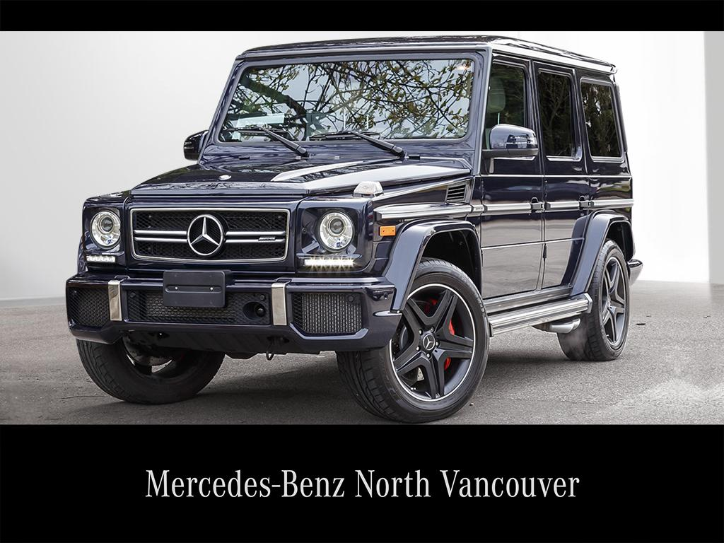 Certified Pre Owned 2016 Mercedes Benz G CLASS G63 AMG